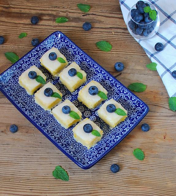 Bizcochos de limón y aceite de oliva