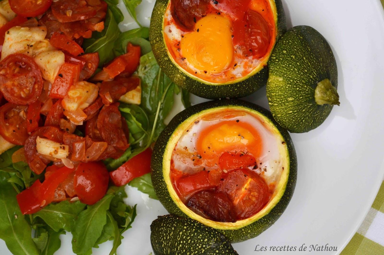Ma cuisine au fil de mes idées...: Courgettes rondes ...
