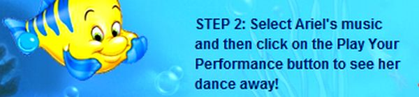 Your performance button to see her dance away