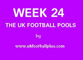 WEEK 24: UK FOOTBALL POOLS | 22-12-2018 | www.ukfootballplus.com.ng