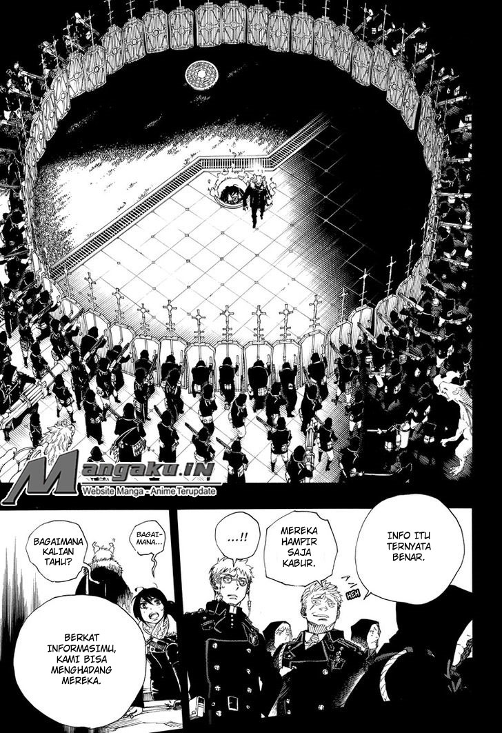 Ao no Exorcist Chapter 108-10