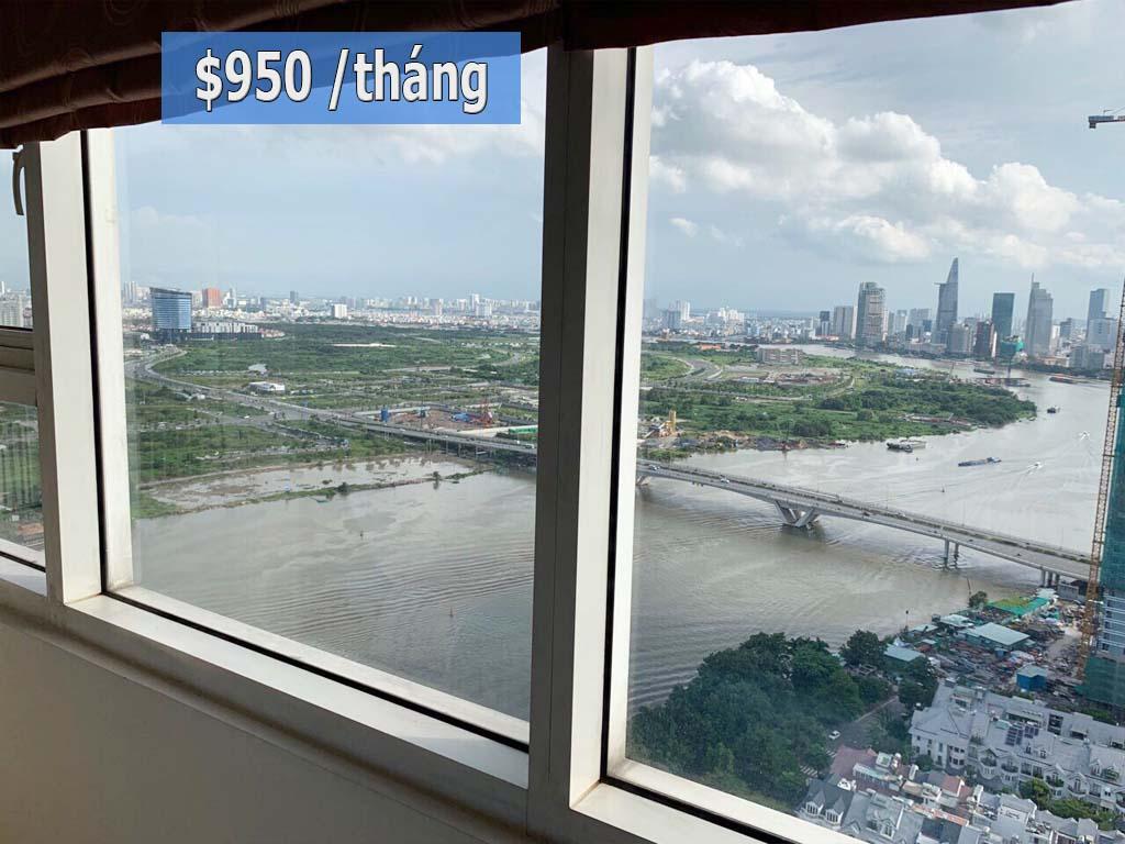 Căn hộ cao cấp Ruby 1 Sài Gòn Pearl cho thuê 2PN - 1