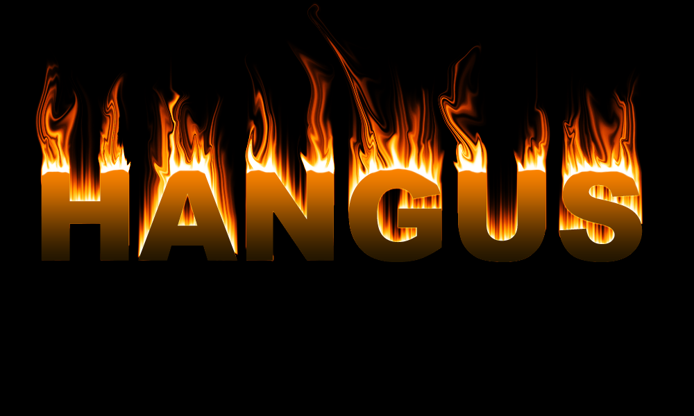 cara membuat efek tulisan terbakar di photoshop | SANTRI AKTIF