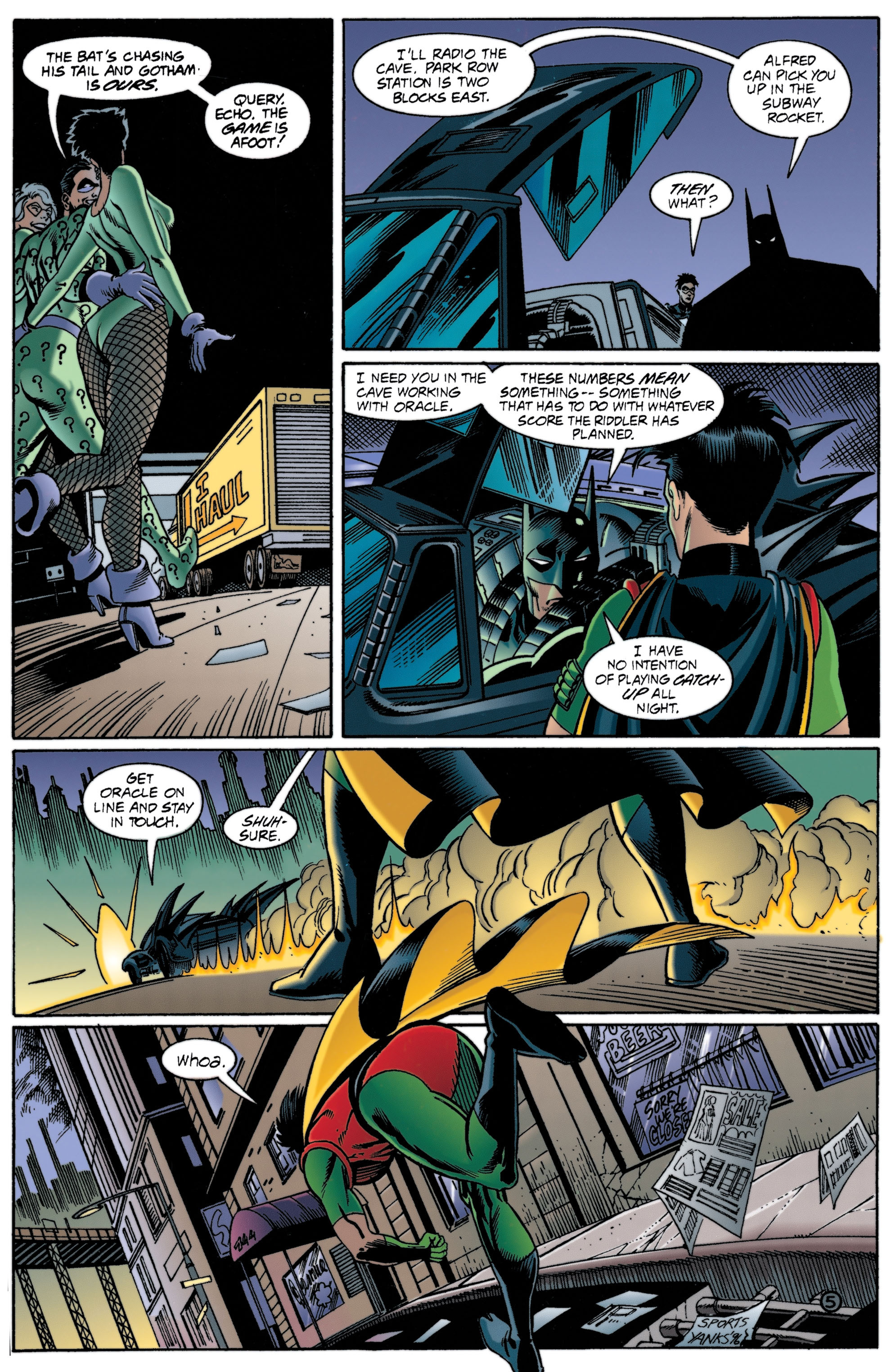 Detective Comics (1937) 706 Page 5