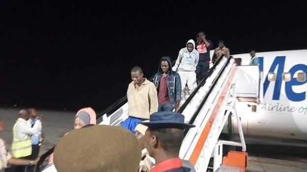 FB IMG 1518510105548 - Photos: Fifth batch of Libyan Returnees arrive in Port Harcourt