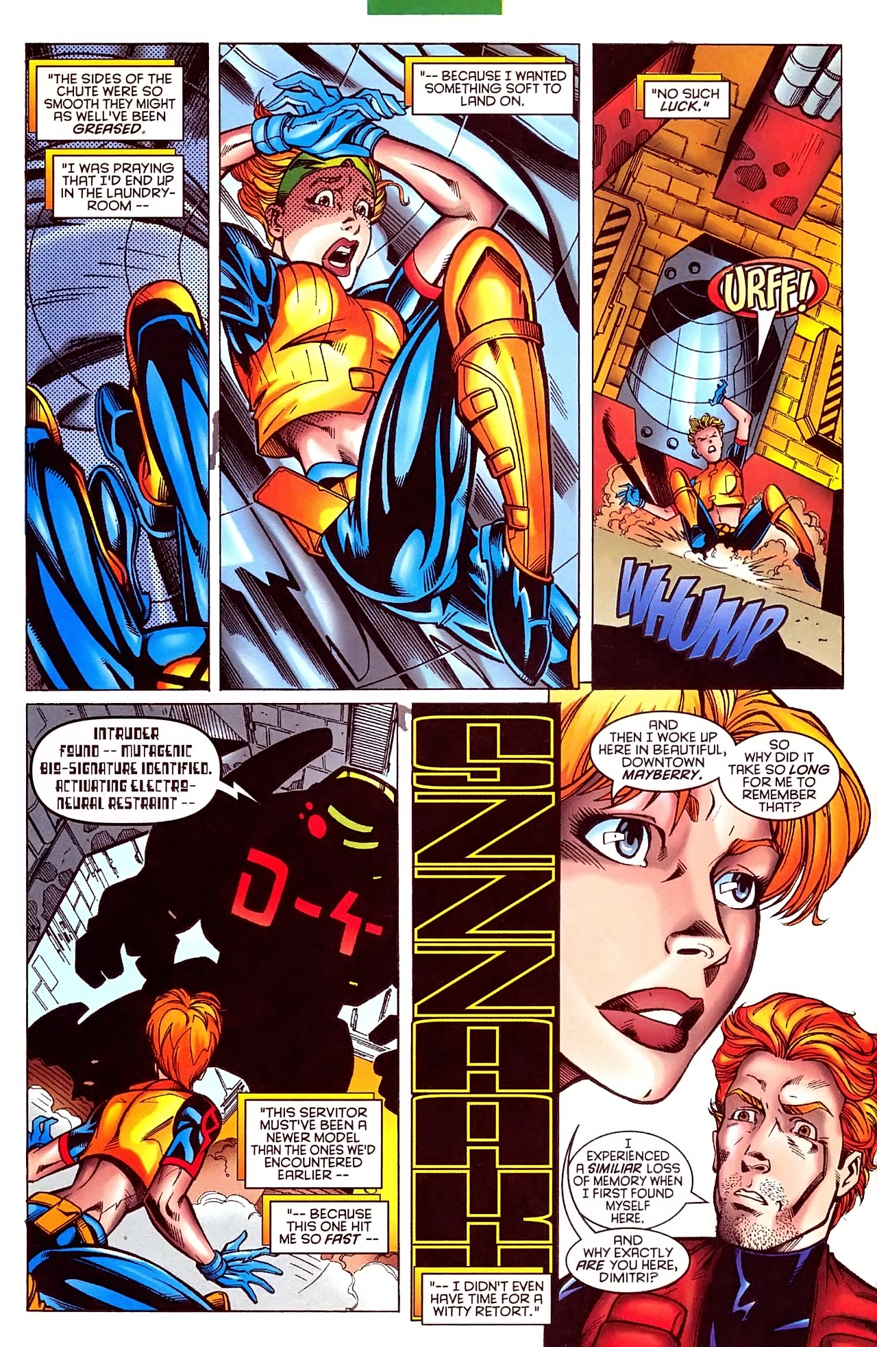Read online X-Force (1991) comic -  Issue #63 - 19