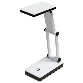 lampada da tavolo pieghevole cob led