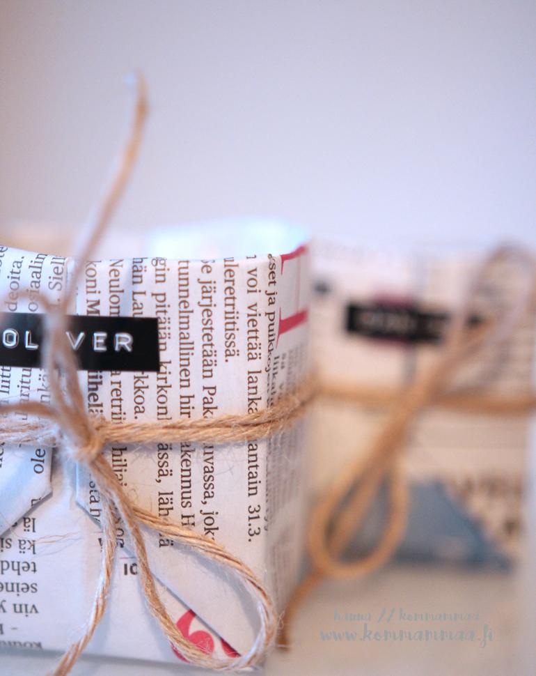 istutuspotti sanomalehdestä
