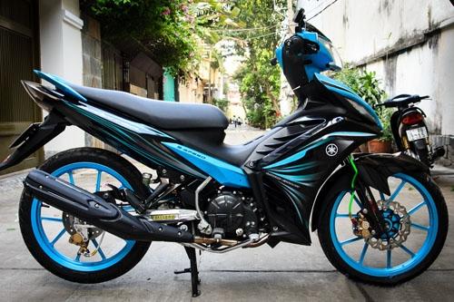 Sơn xe Yamaha Exciter chuyên nghiệp tại Tphcm