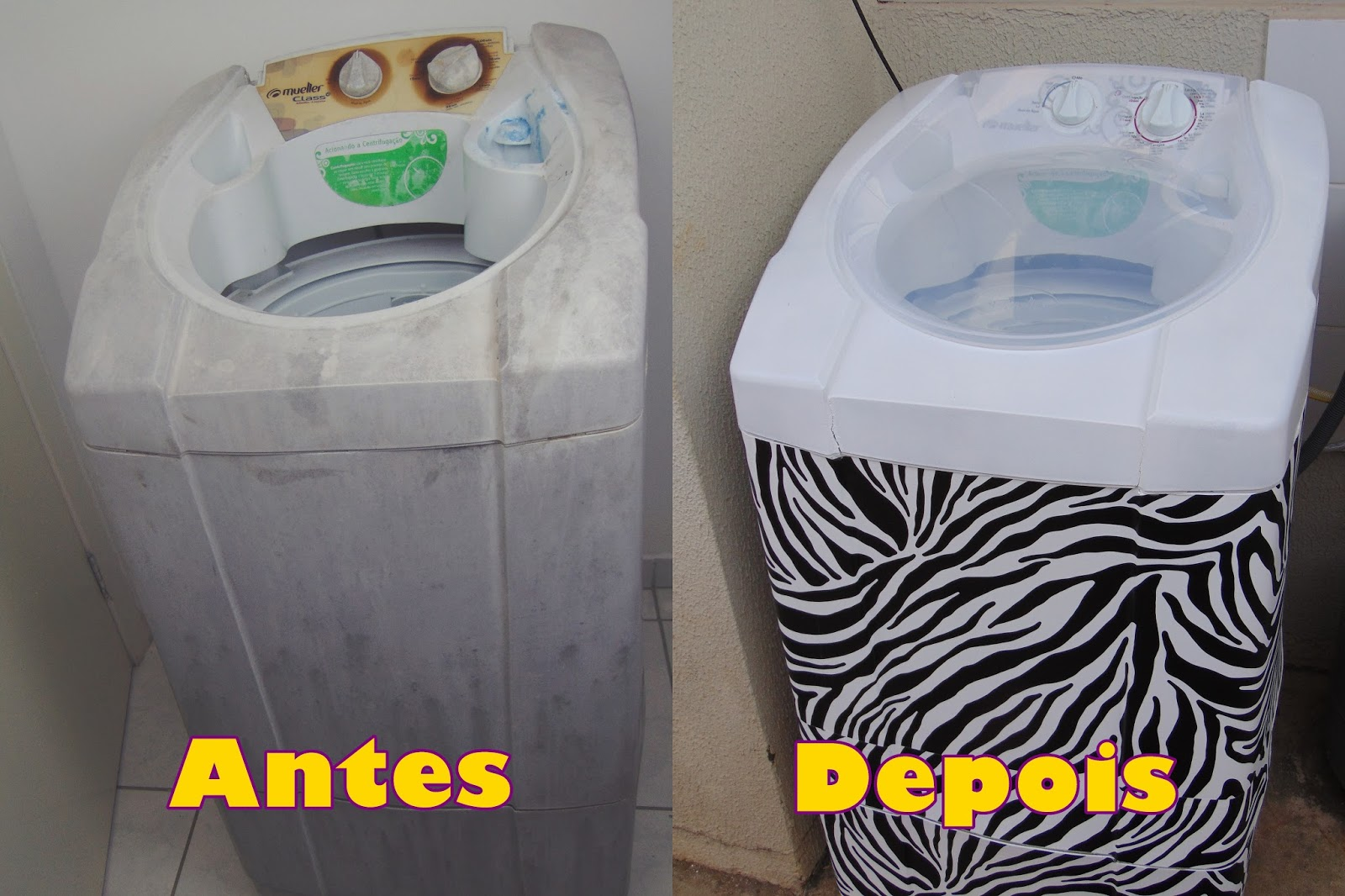 Restaurando máquina de lavar