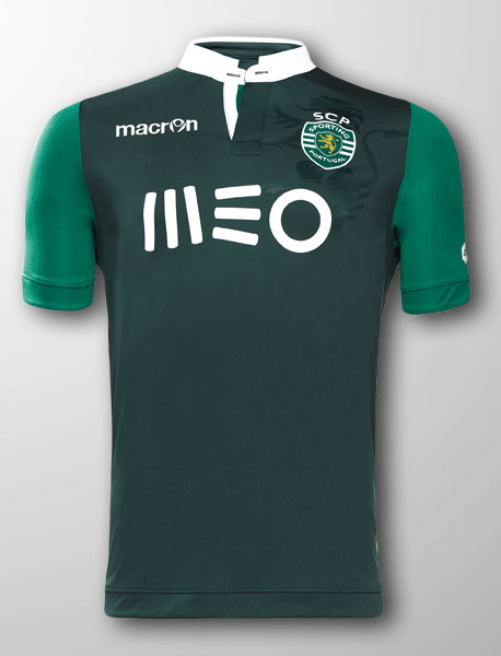 sporting 1415 champions league kit unveiled footy headlines