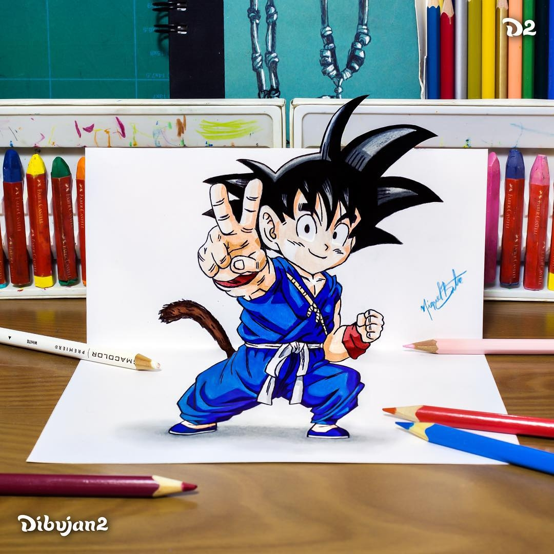 06-Goku-Miguel-Brito-3D-Illusions-with-Drawings-and-Illustration-www-designstack-co