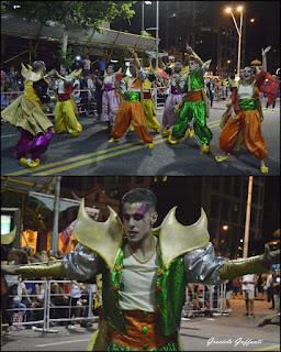 Desfile Inaugural del Carnaval. Uruguay. 2017. Humoristas Sociedad Anónima