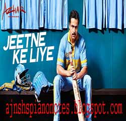Jeetne Ke Liye Piano Notes Azhar