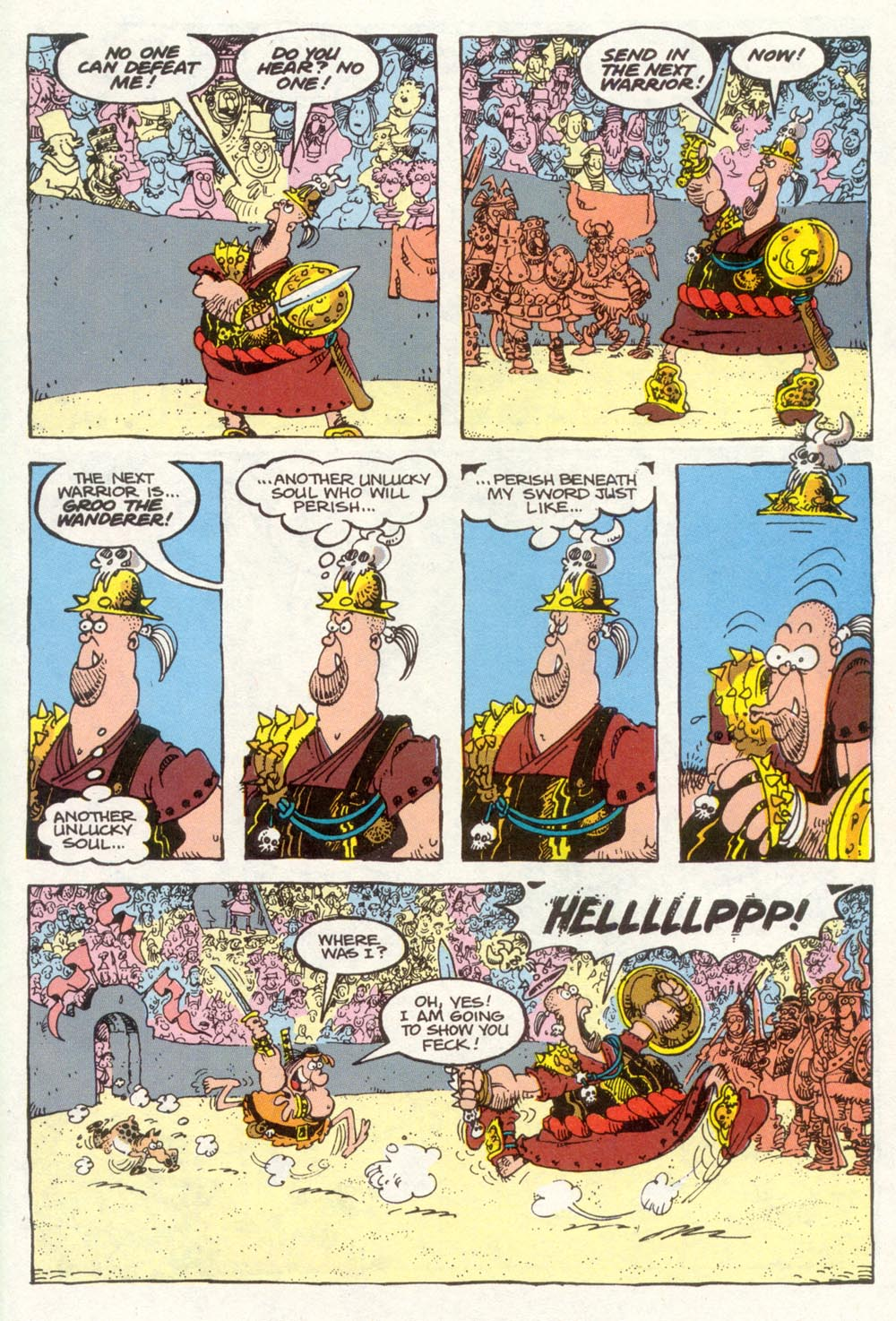 Read online Sergio Aragonés Groo the Wanderer comic -  Issue #91 - 24
