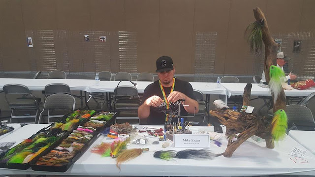 Mike Evans at the 2017 Wasatch Fly Tying and Fishing Expo