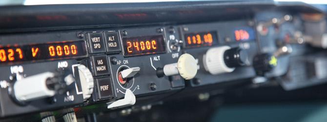 تدريبات السيطرة توازن الطائرة النفاثة