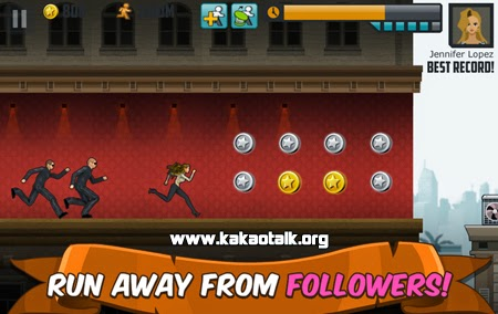 Juega con Jennifer Lopez en Follow the Leader for KakaoTalk
