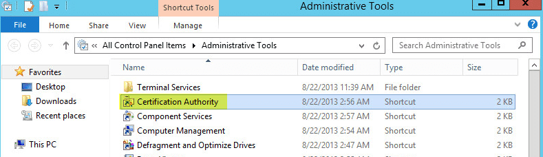 How to deploy active directory certificate services on windows creating certificate template for workstation and client authentication yelopaper Image collections