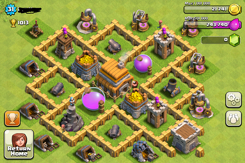 Base Coc Th 5 Terkuat Dan Susah Dibobol 3