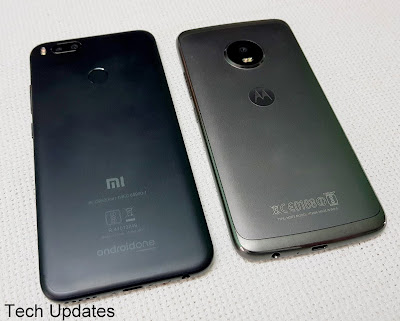 Xiaomi Mi A1 vs Moto G5 Plus