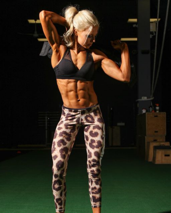 Fitness Model Kyla Ford