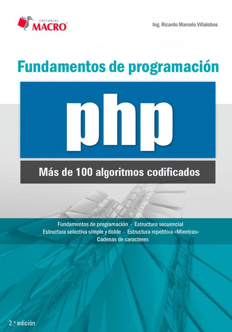 Fundamentos de programación PHP – Ricardo Marcelo Villalobos