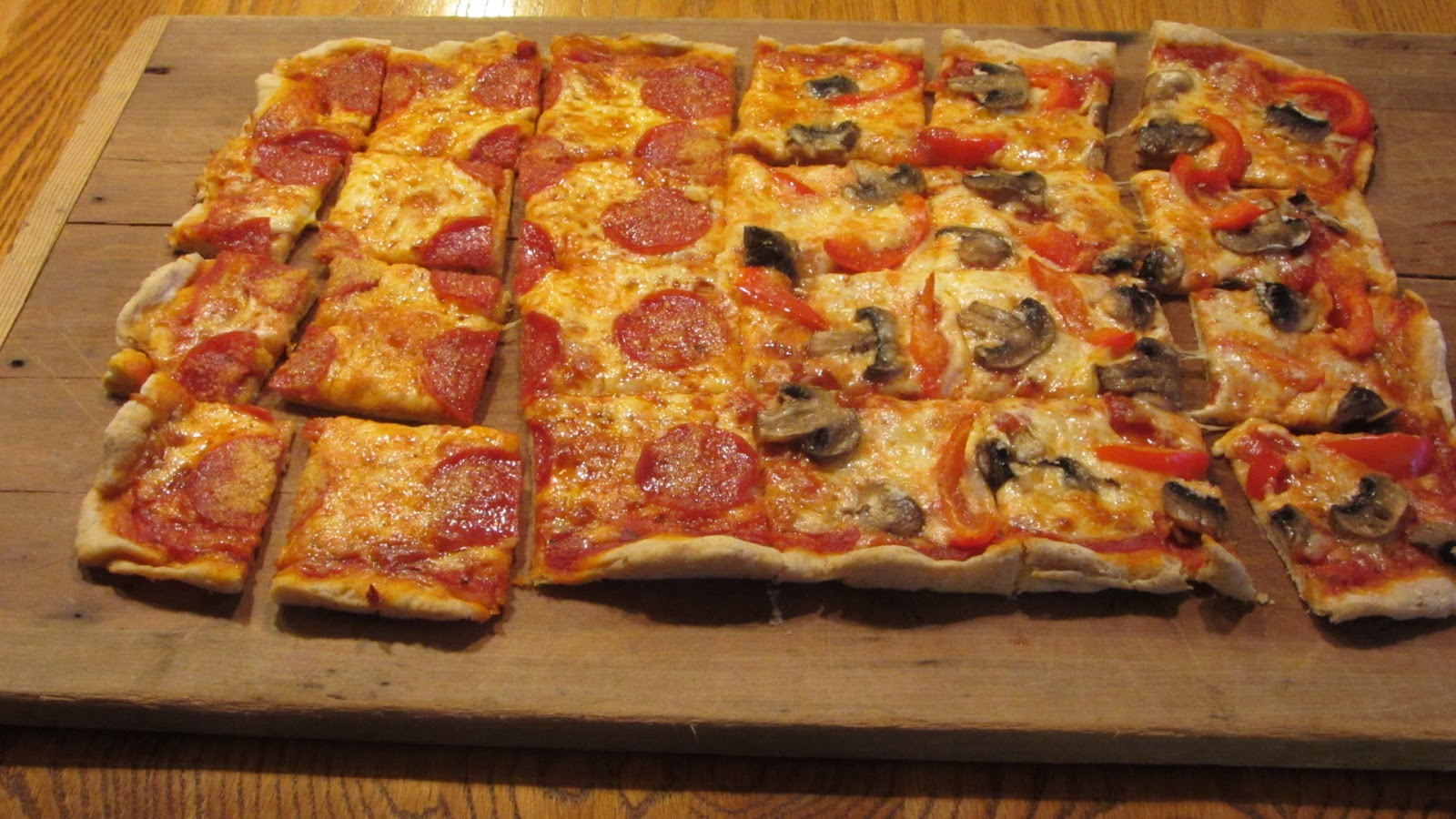 Tracy's Living Cookbook: A Pisa Pizza: Best Pizza Dough