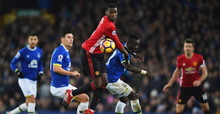 Everton vs Manchester United Live Streaming online Today 01.01.2018 Premier League