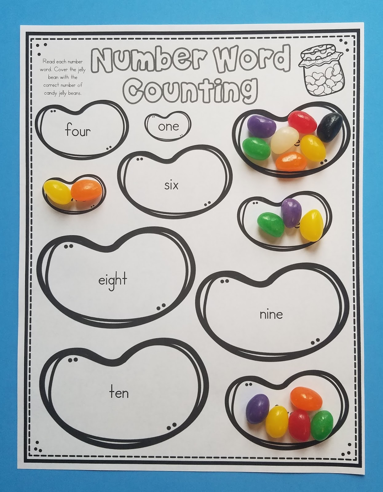 10 Jelly Bean Math Activities