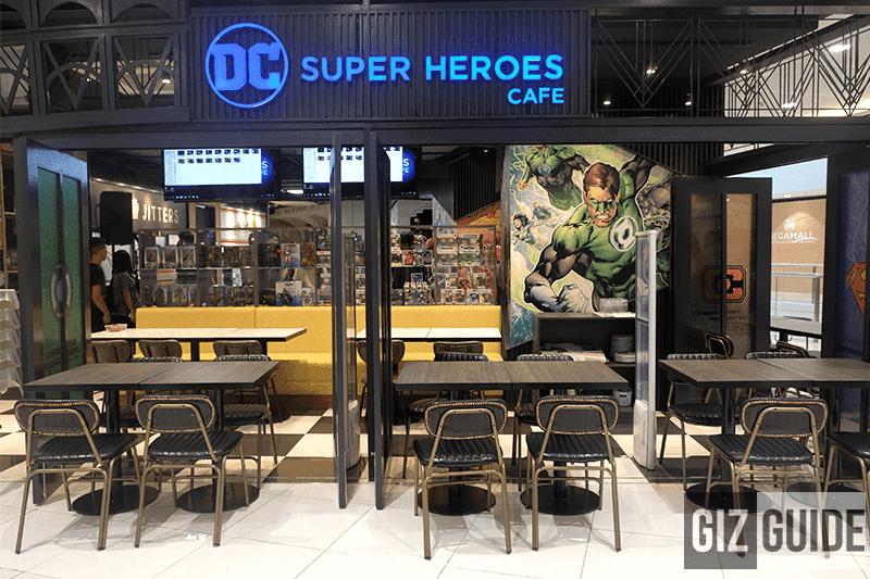DC Super Heroes Cafe SM Megamall
