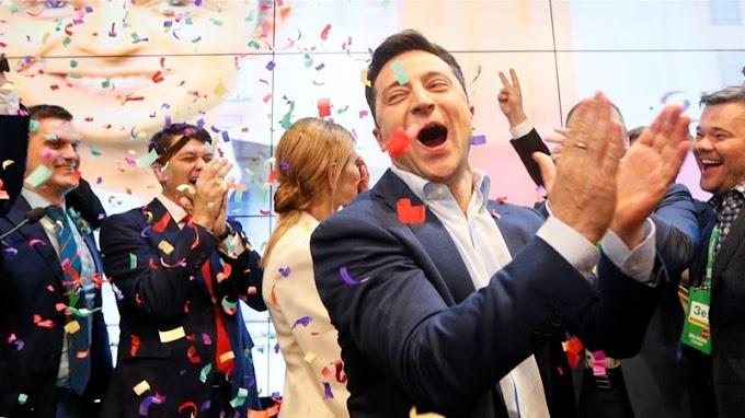 Comedian wins Ukraine's presidential vote