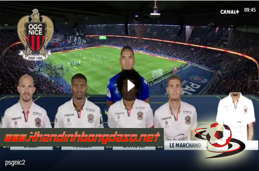 Video Paris Saint Germain 3 - 0 Nice Ligue 1 Vòng 11