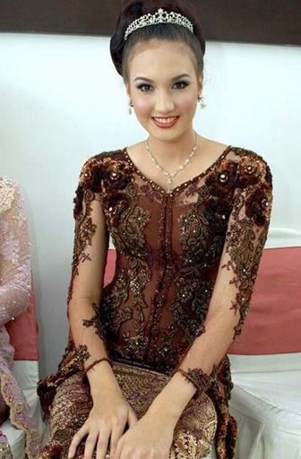 Model Baju Batik Kombinasi Brokat Modis Dan Terbaru