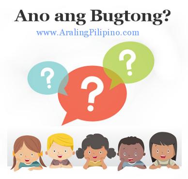 Araling Pilipino Ano ang Bugtong?