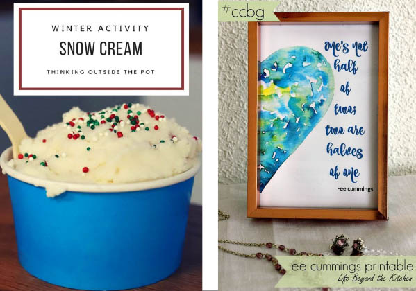 snow cream and poem printable featured pins