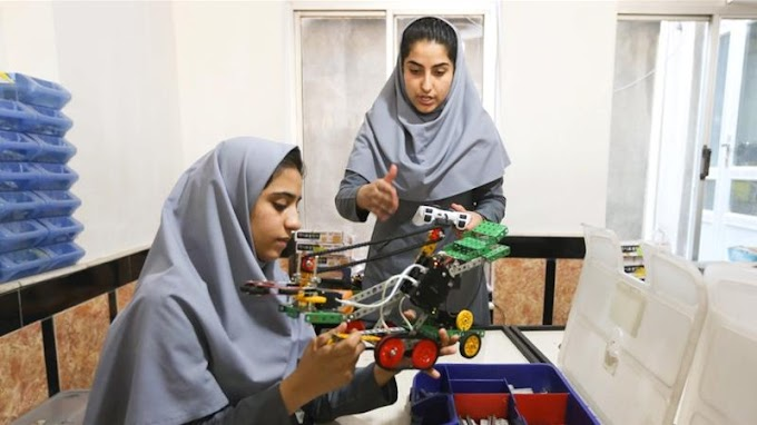 Afghan girls robotics team given US visa after outrage