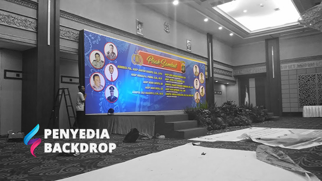 Jasa Backdrop Murah