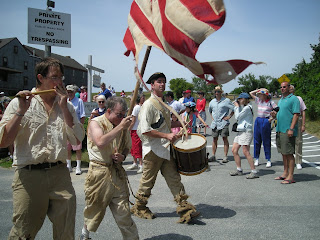 July 4th parade in Quisset, MA on Cape Cod