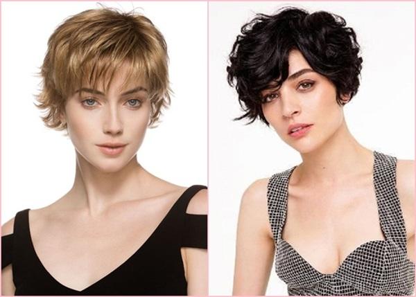 Nette Lockige Pixie Frisuren und Haarschnitt Ideen