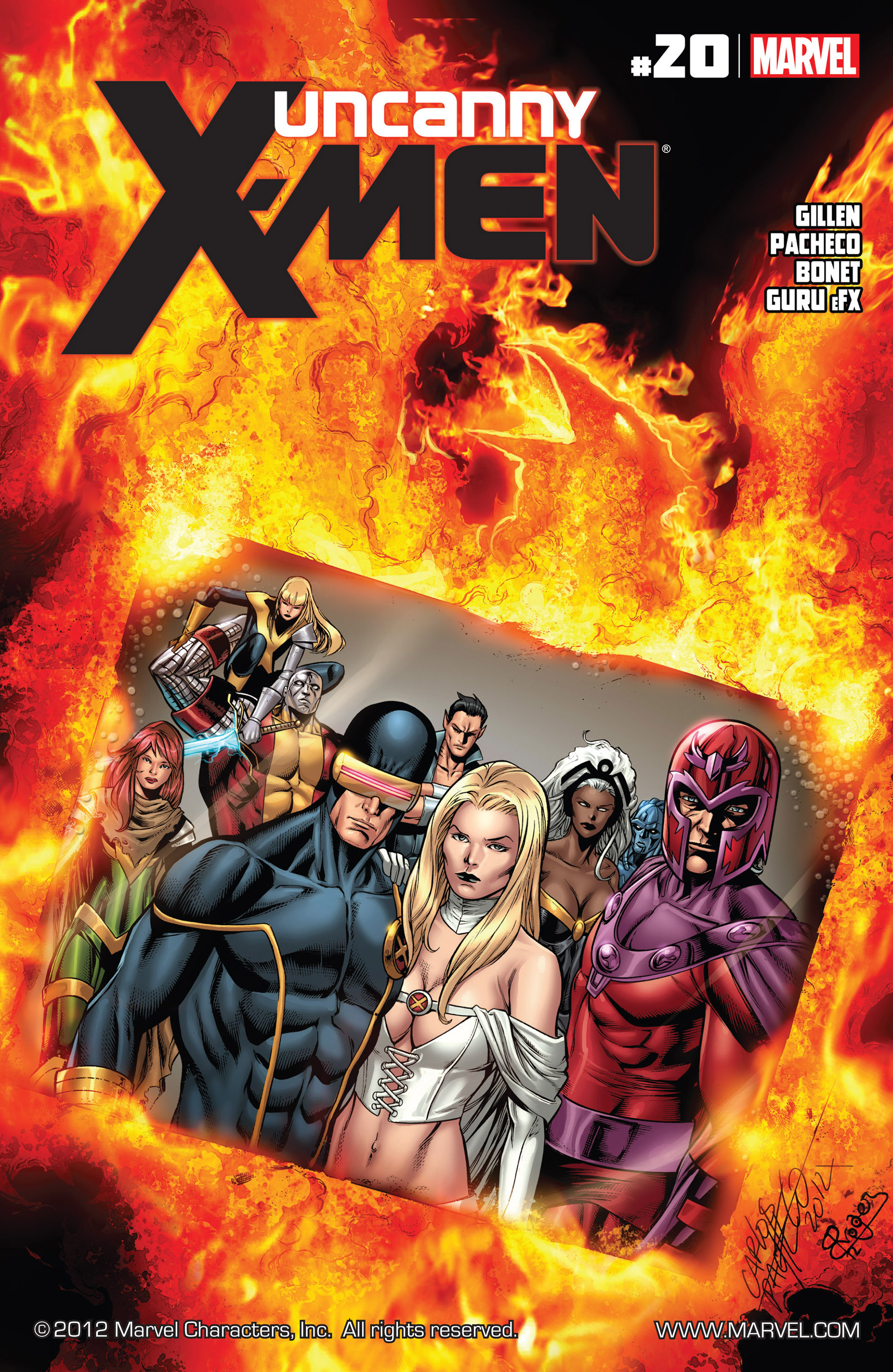 Read online Uncanny X-Men (2012) comic -  Issue #20 - 1
