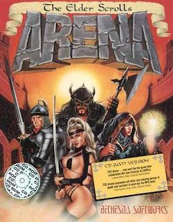 Elder Scrolls Arena box art