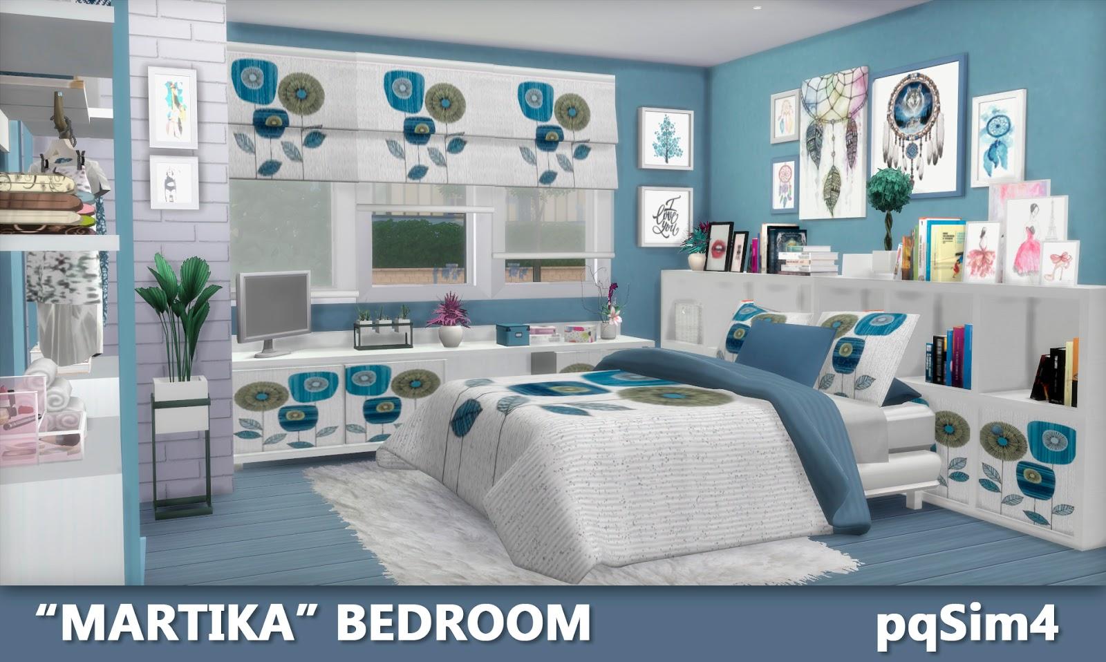 Sims Bedroom Martika Bedroom Sims 4 Custom Content