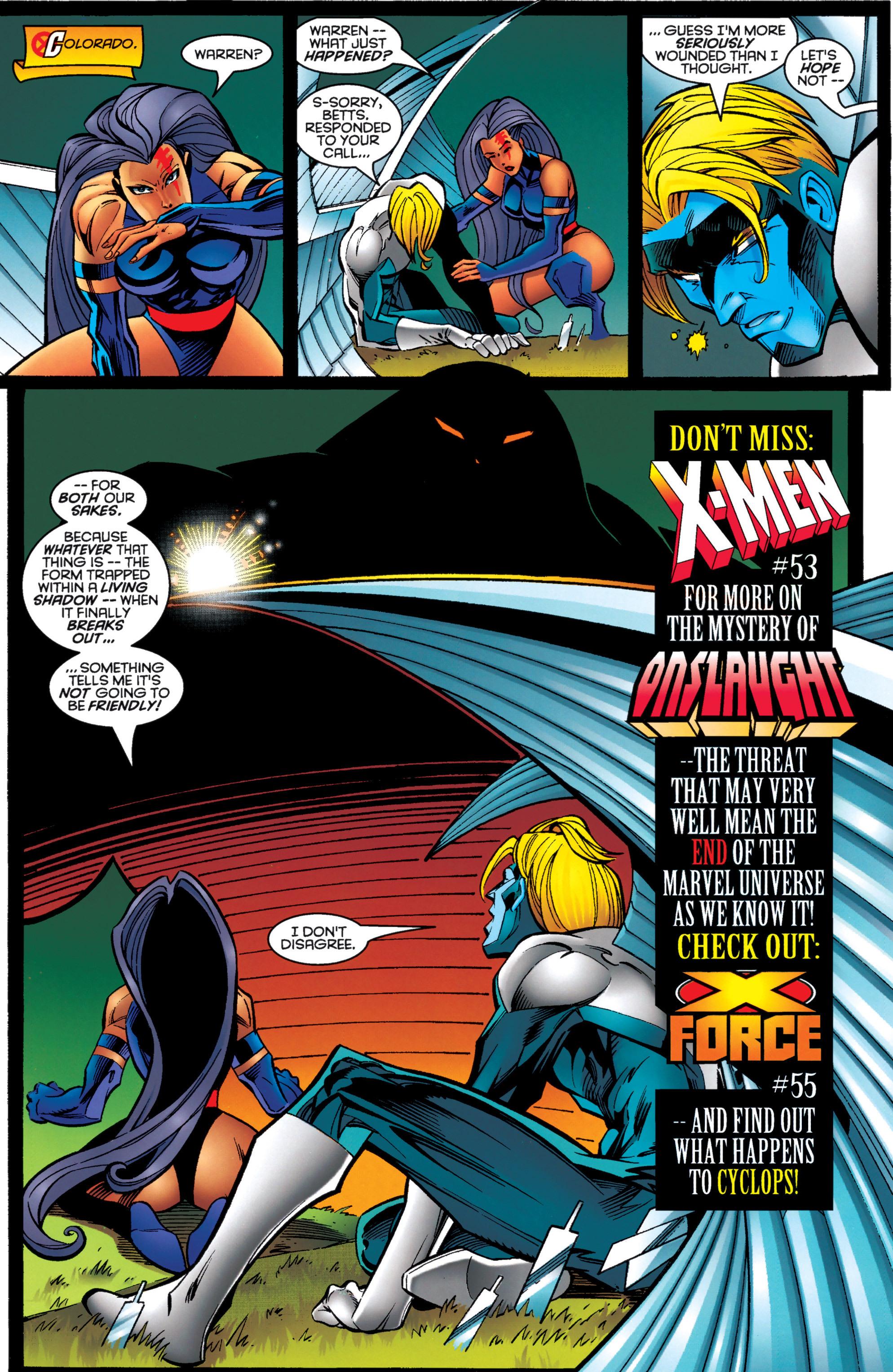 Read online Uncanny X-Men (1963) comic -  Issue #333 - 19