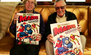 Roy Thomas and Stan lee