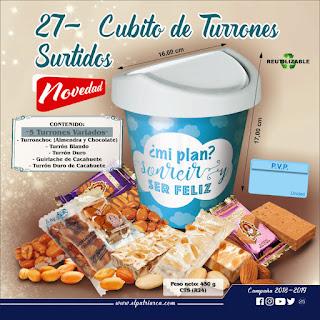 Cubito de Turrones Surtidos El Patriarca 450 g - Comercial H. Martín sa