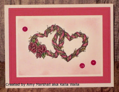 ODBD Love One Another, Card Created by Amy Marshall aka Kalla Walla