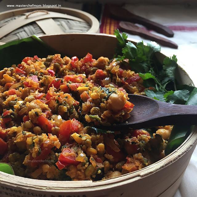 Barnyard Millet Salad