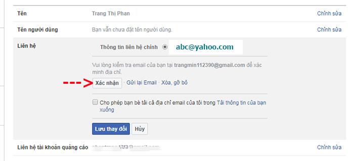 doi dia chi yahoo thanh gmail tren facebook 5