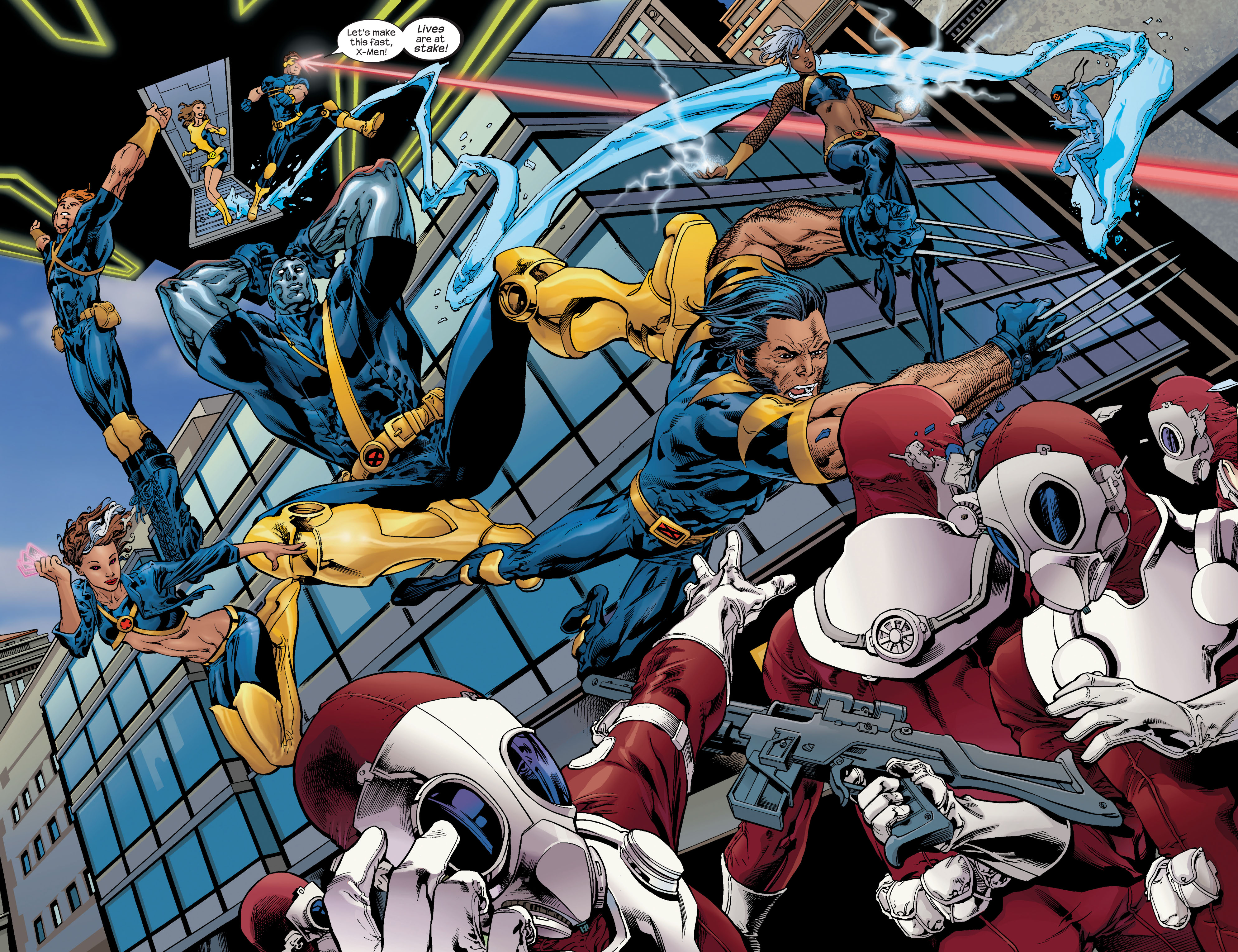 Read online Ultimate X-Men comic -  Issue #72 - 5